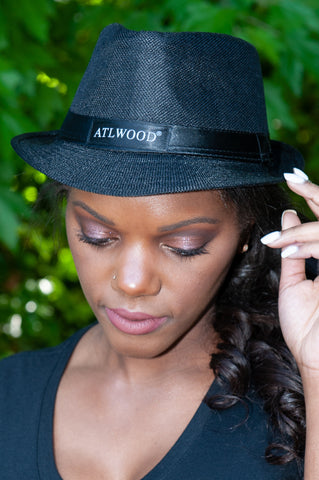 ATLWOOD Black Fedora Hat