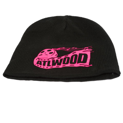ATLWOOD® Films Black & Pink Beanie