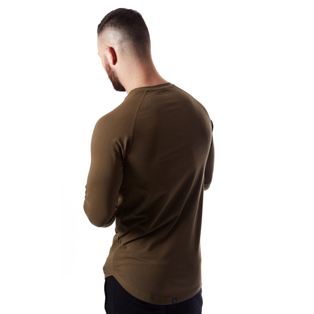 VXS CORE Long Sleeve T-Shirt - Olive