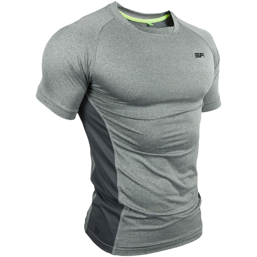 Envy Fitness Apparel - Lithe Line T Shirt - Grey – Muscle