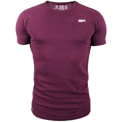 Silicone T Shirt - Maroon