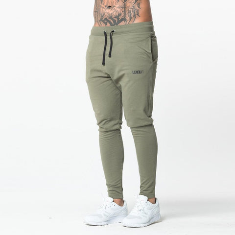 Level 1 Essential Joggers in khaki