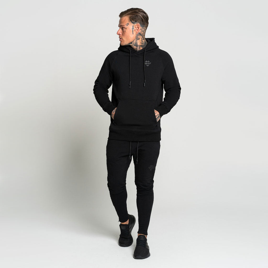 Pursuit Pullover Hoodie - Black