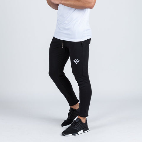 machine fitness Intensity Fitted Tapered Bottoms in Black