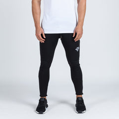 machine fitness Intensity Fitted Tapered Bottoms Black