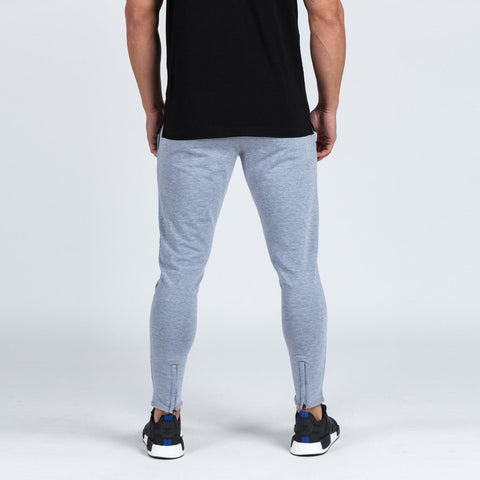 machine fitness Intensity Fitted Tapered Bottoms marl grey