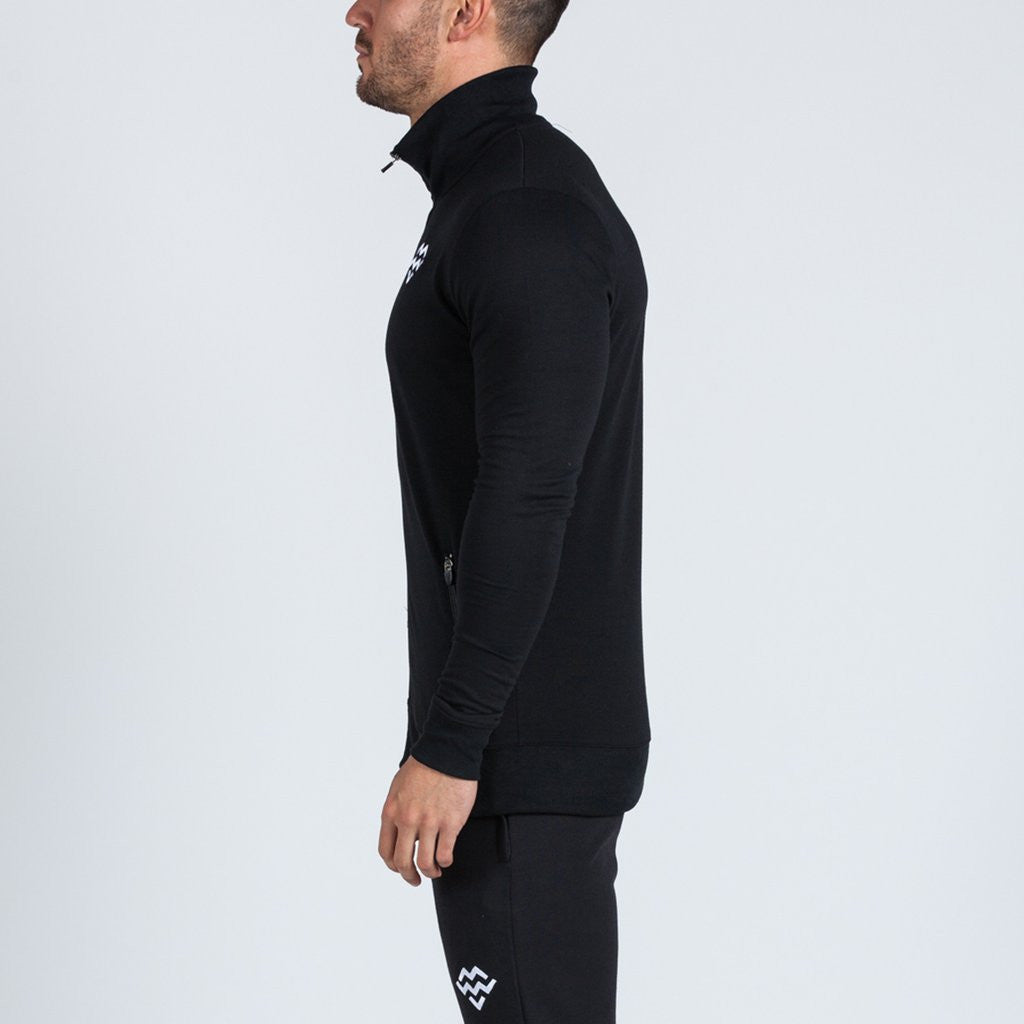 black machine fitness Intensity jacket