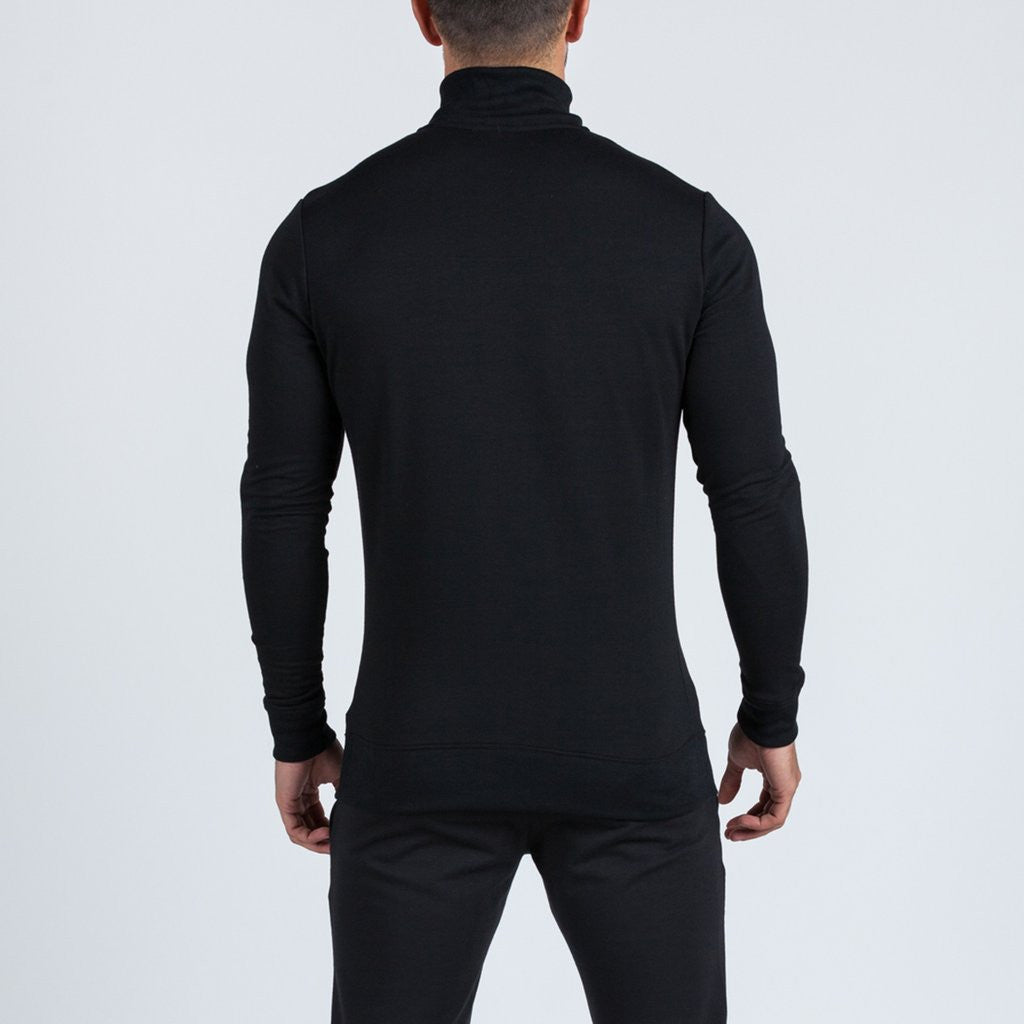 black Intensity jacket by machine fitness