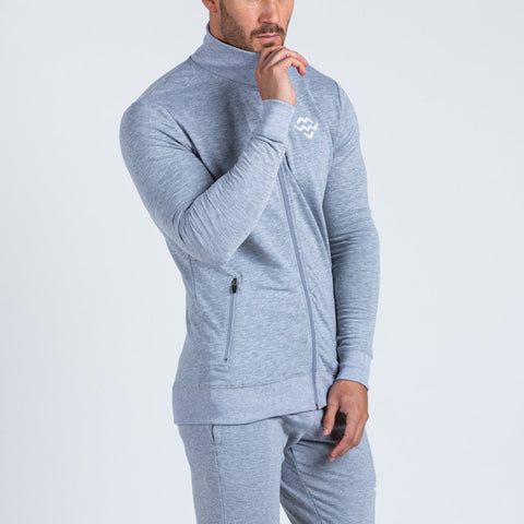 machine fitness Intensity jacket in marl grey
