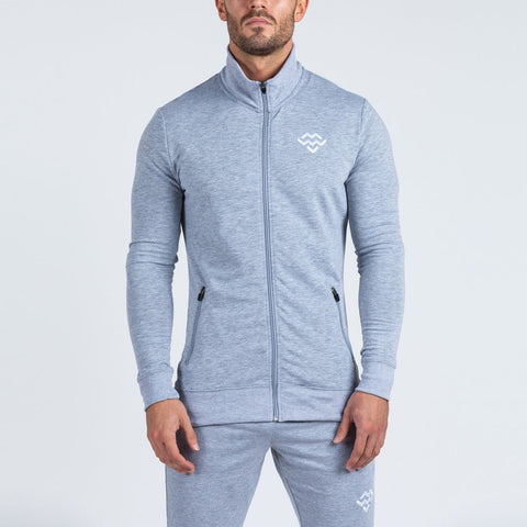 machine fitness Intensity jacket marl grey