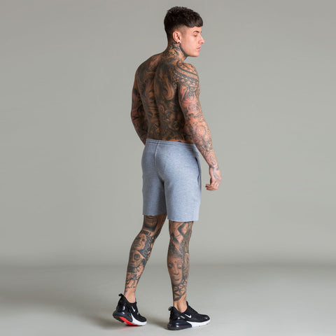 Machine Fitness Raw Cut Intensity Shorts Grey