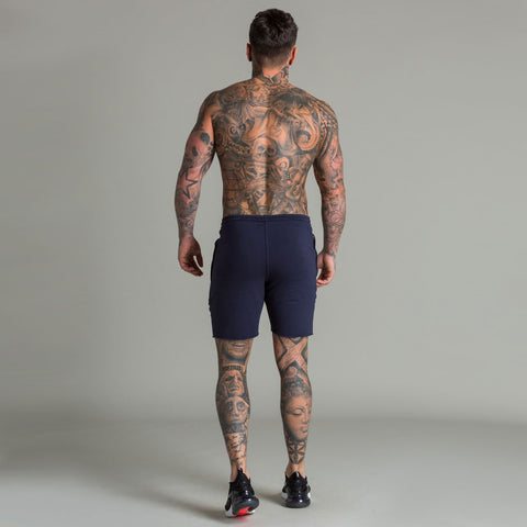 Machine Fitness Raw Cut Intensity Shorts Blue