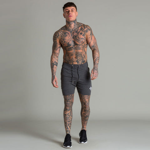 Machine Fitness Raw Cut Intensity Shorts Titanium