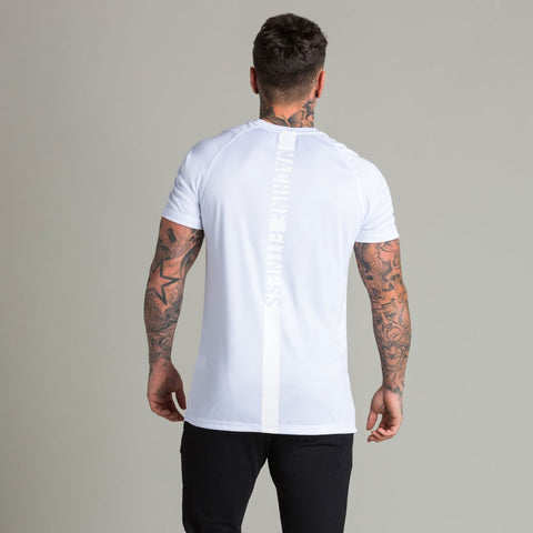 Machine Fitness Strike T Shirt White