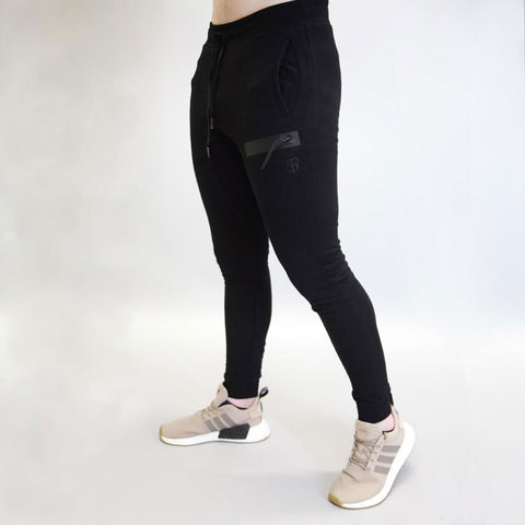 Sans Pareil Tech Joggers in Onyx Black