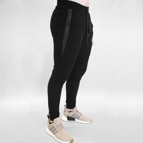 Sans Pareil Tech Joggers in Black