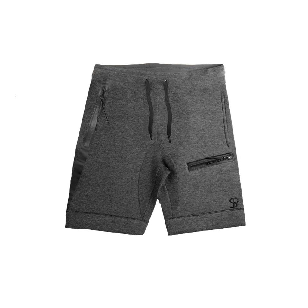 Sans Pareil Tech Joggers Shorts in Grey