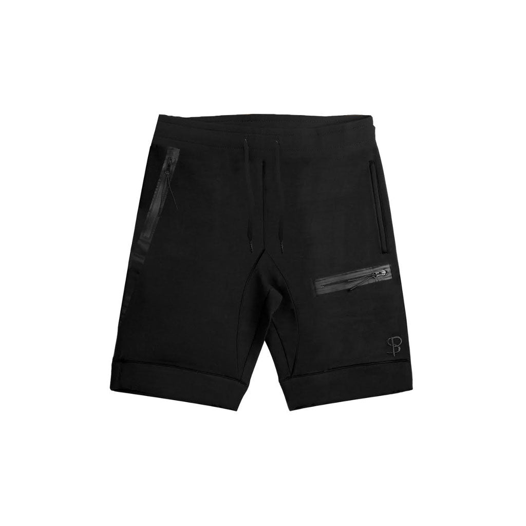 Sans Pareil Tech Joggers Shorts in Black