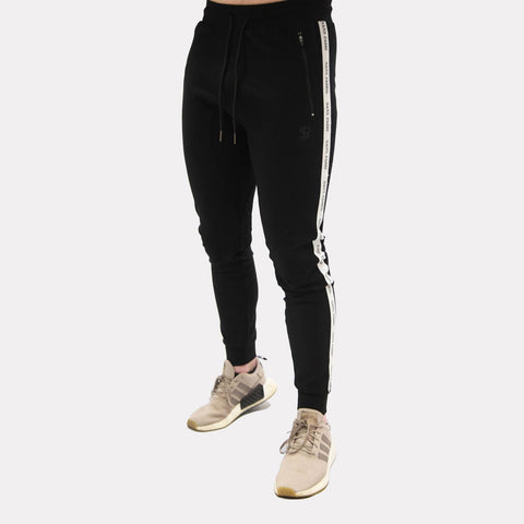 Sans Pareil Black Track Bottoms