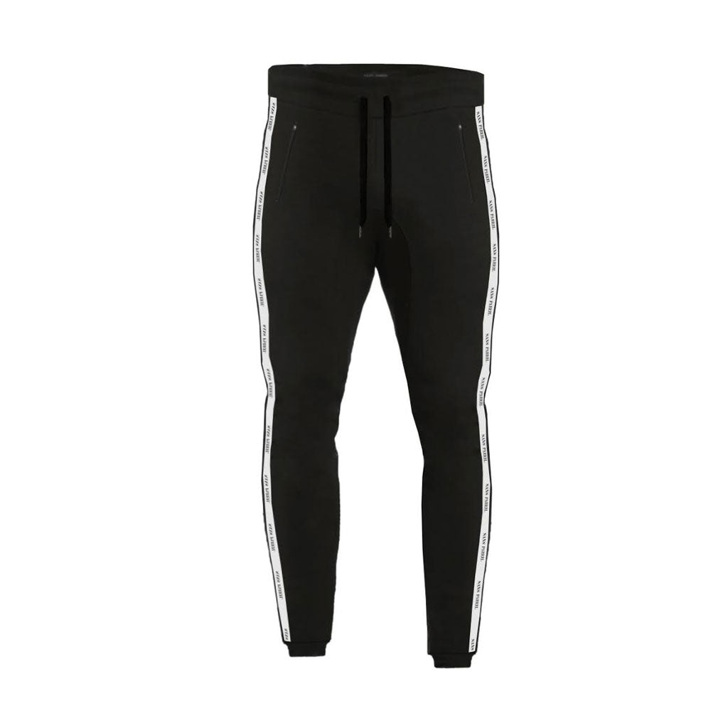 Black Sans Pareil Track Bottoms