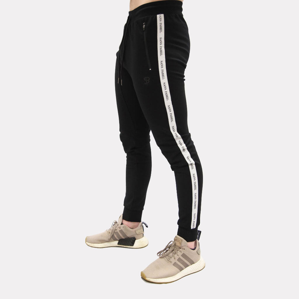 Sans Pareil Track Bottoms - Black