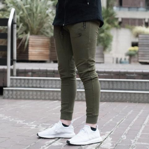 Sans Pareil khaki Light Fleece Joggers