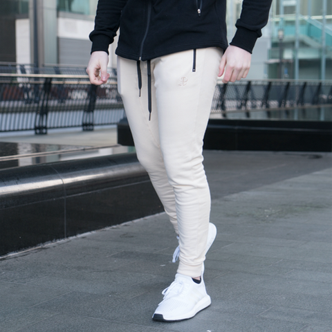 Sans Pareil Light Fleece Sandstone Joggers