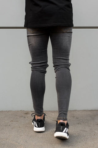 Destroyed Jeans - Grey