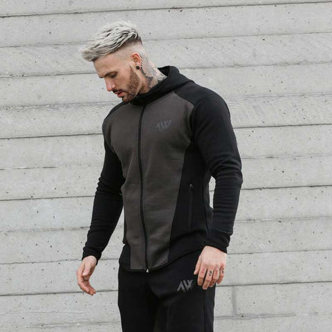 Aspire Way Tech 2.0 Hoodie in Charcoal Mix