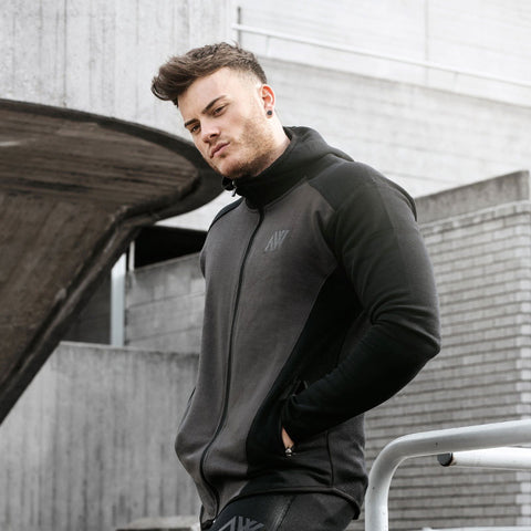 Aspire Way Tech 2.0 Hoodie in Charcoal