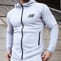 lunar grey Aspire Way Tech 2.0 Hoodie