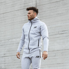 Aspire Way Tech 2.0 Hoodie in lunar grey