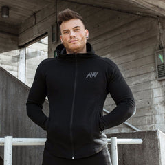 Aspire Wear Tech 2.0 Hoodie in Stealth Black