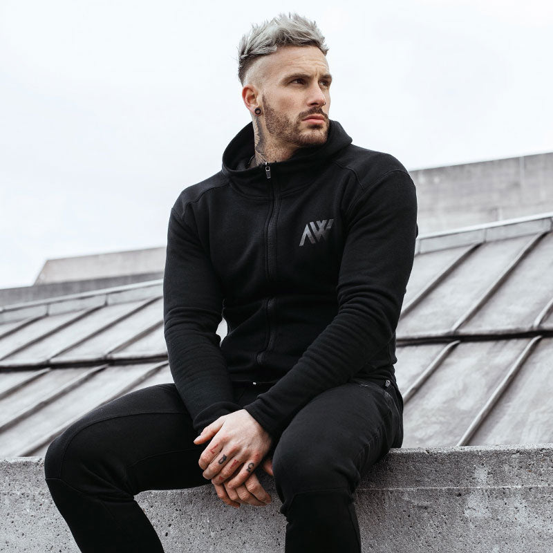 Stealth Black Aspire Wear Tech 2.0 Hoodie