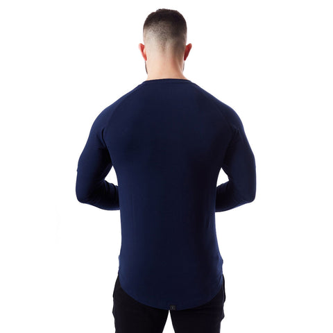VXS CORE Long Sleeve T-Shirt - Navy