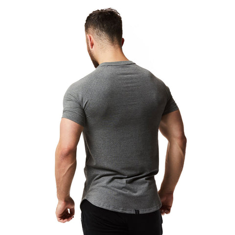 vxs gym wear Core t shirt in grey