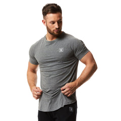 vxs gym wear Core t shirt in charcoal