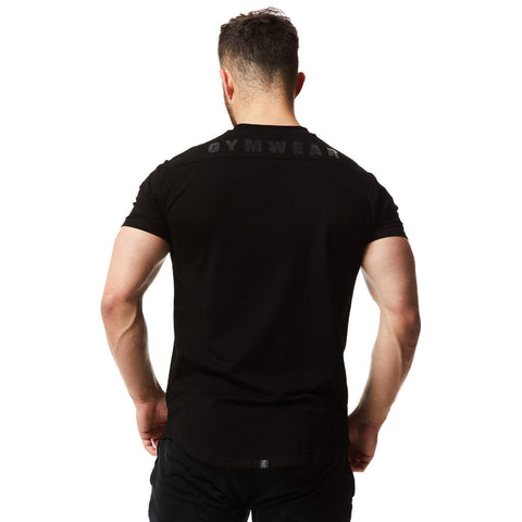 vxs gym wear fusion t shirt blackout special edition