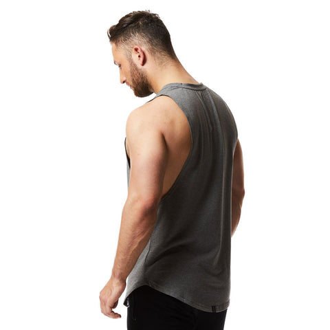 vxs gym wear Sleeveless Tee in grey