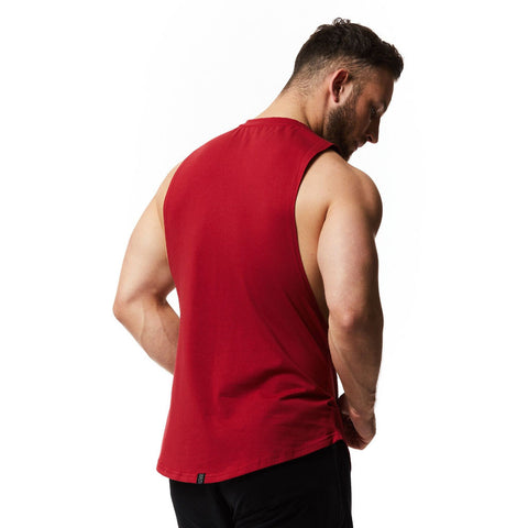 dark red vxs gym wear Sleeveless Tee