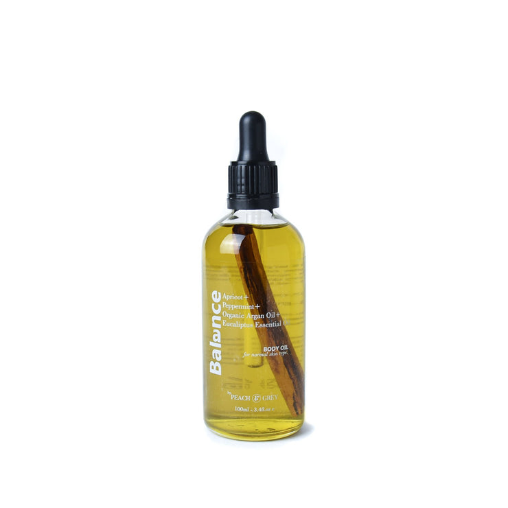 Balance Body Oil with Apricot and Peppermint - Online Australia