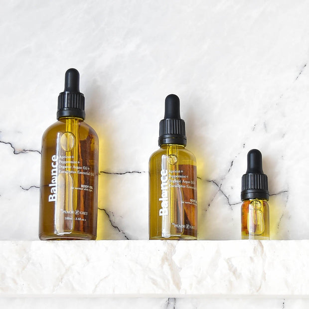 Balance Body Oil Plant Based - Handmade in Australia
