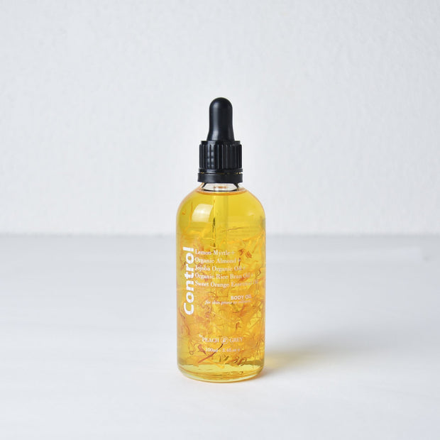 Control Body Oil for Skin Prone to Oiliness - Handmade in Melbourne