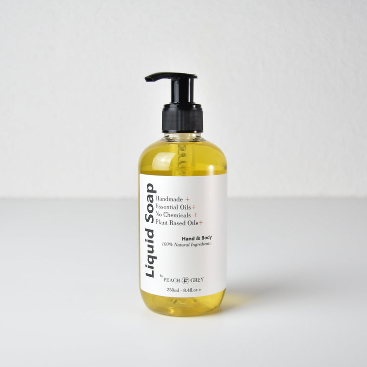 Hand And Body Liquid Soap - Handmade in Australia