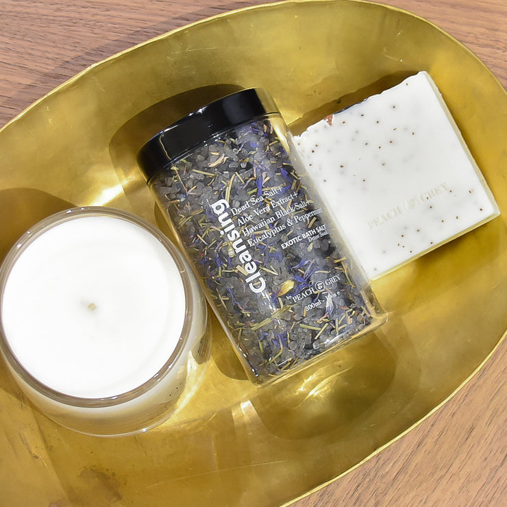 Rich Bath Soak with Dead Sea Salt - Detox Soak