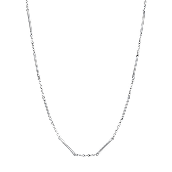UNITY NECKLACE WITH SINGLE BEZEL DIAMOND