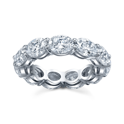 Oval-Cut Eternity Band