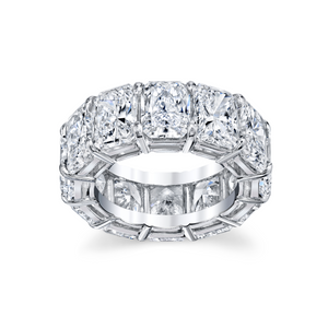 Radiant-Cut Eternity Band