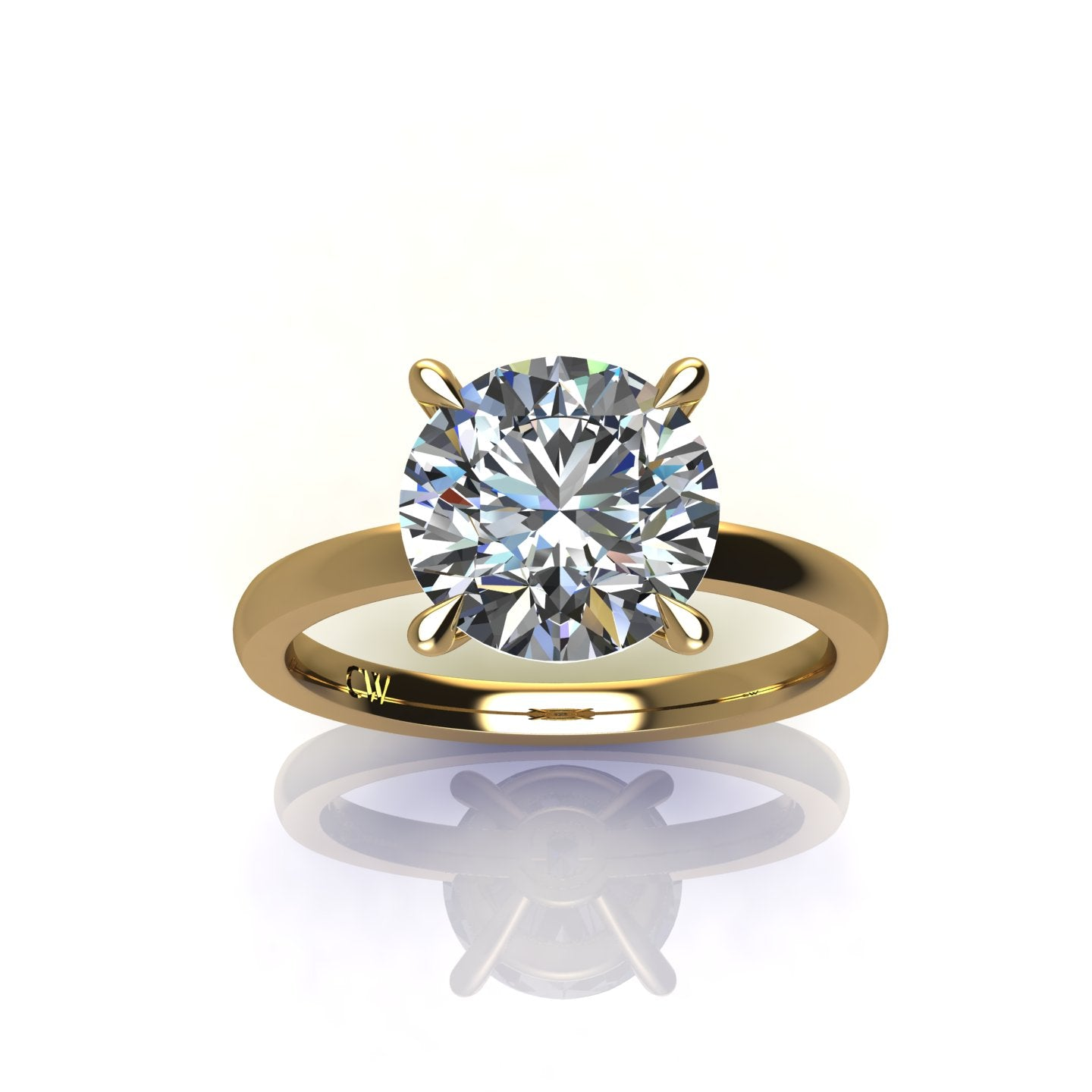 SIGNATURE SOLITAIRE ENGAGEMENT RING