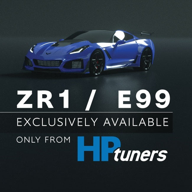 HP Tuners Unlocked E99 ECM for C7 ZR1